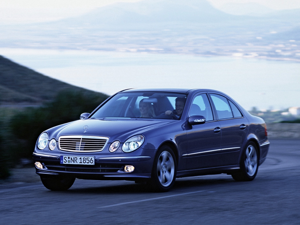 Mercedes benz e class e500 e320 1024x768 wallpaper for Mercedes benz e class 2003 price